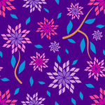 25181: Kantige Blumen