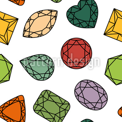 Polished Beauties Vector Ornament