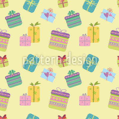 Gifts Vector Pattern