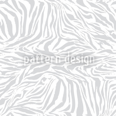 Zebra Monochrome Seamless Vector Pattern Design