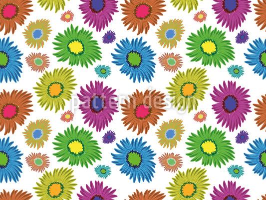 Gänseblümchen Sommer Muster Design
