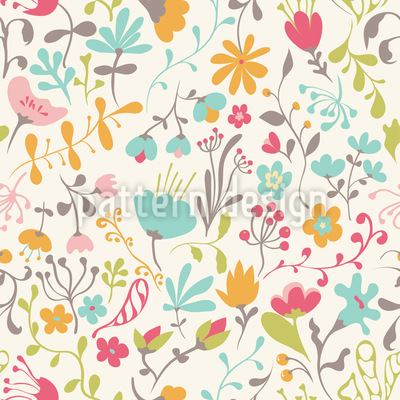 Floral Enchantment Design Pattern