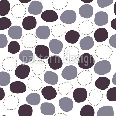 Gently Floating Dots Seamless Pattern