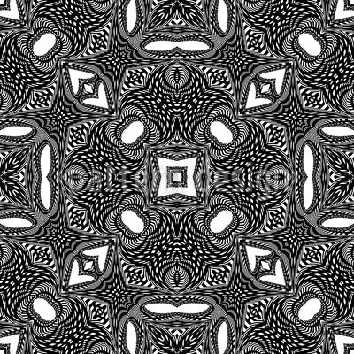 Orient Im Kaleidoskop Vektor Design