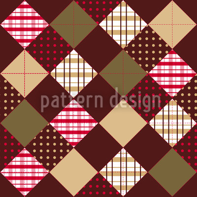 Flic Flac Brown Vector Ornament
