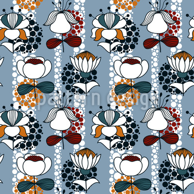 My Fantasy Flowers Design Pattern