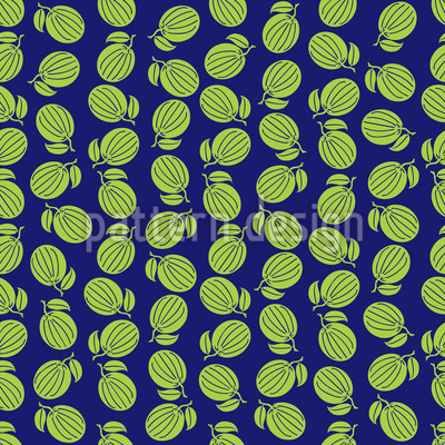 Fresh Fruit Vector Ornament