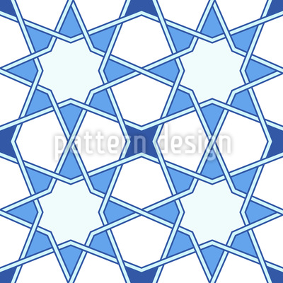 Star Arabesque Seamless Pattern