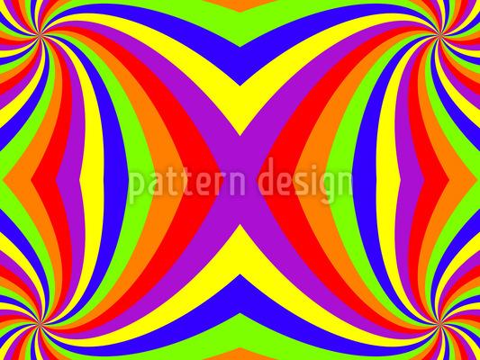 Der Regenbogen Twist Vektor Muster