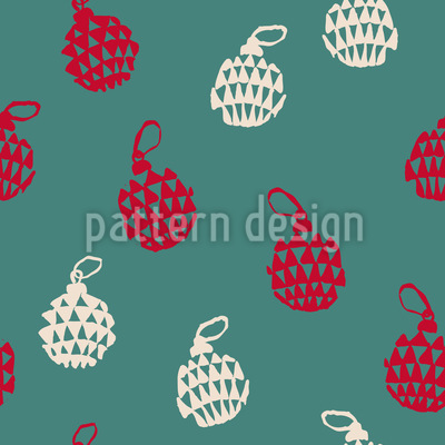 Chrismas Tree Bauble Design Pattern
