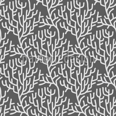 Секрет ветвей Бесшовный дизайн векторных узоров