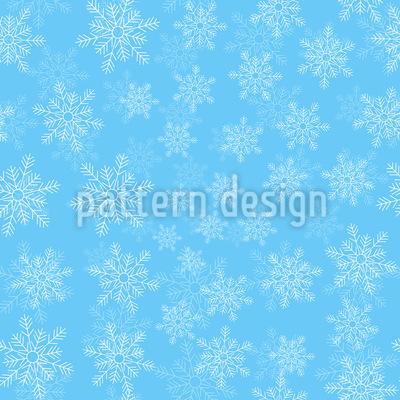 Delicati fiocchi di neve disegni vettoriali senza cuciture