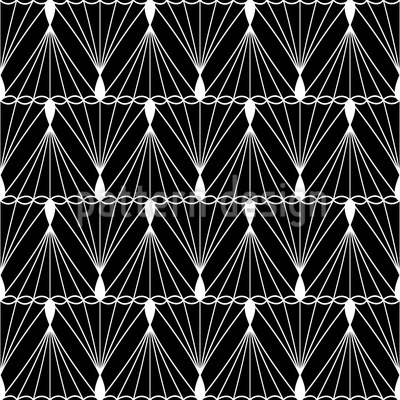 Thread And String Seamless Vector Pattern Design