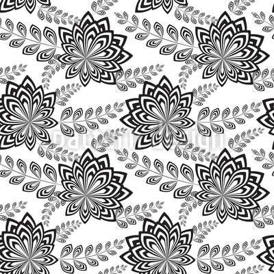 Modern Flowers Design Pattern