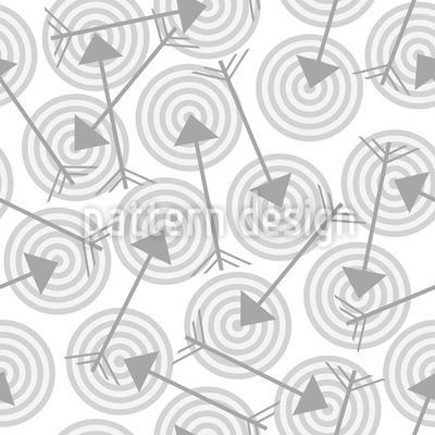 To The Point Seamless Vector Pattern