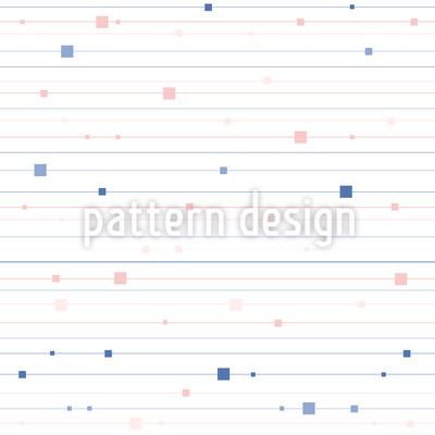 Streifen und Quadrate Rapportmuster