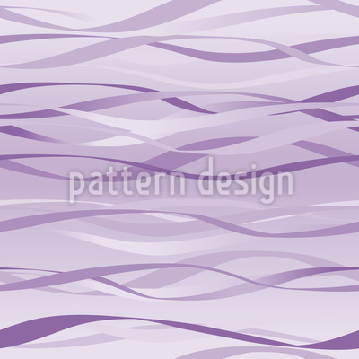 Waves In Lilaq Pattern Design