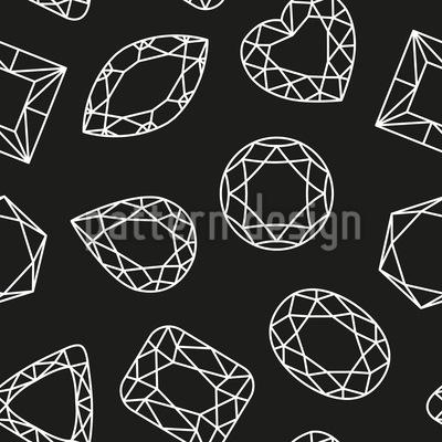 So Viele Diamanten Vektor Ornament