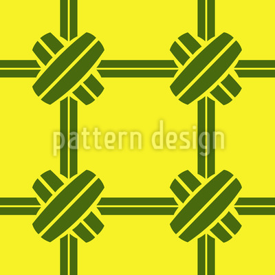 Bamboo Connection Repeat Pattern