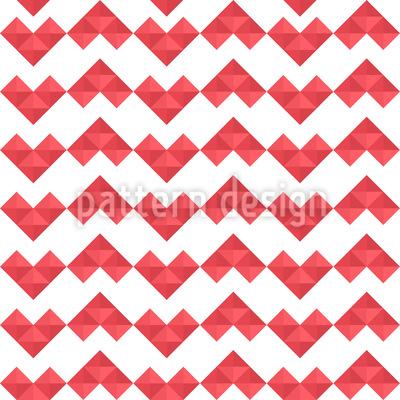 Pixel Herz Musterdesign