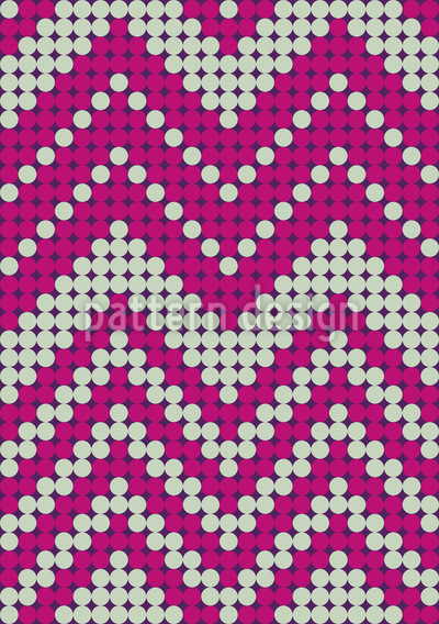 Dot Chevron Pattern Design