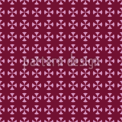 Circle Cross Design Pattern