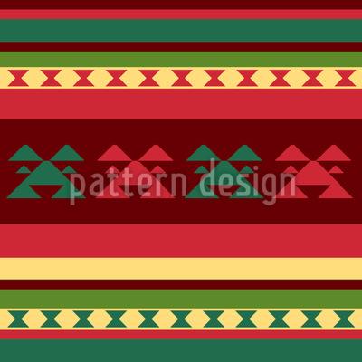 Berg Kilim Muster Design