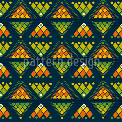 Tribal Arrows Seamless Vector Pattern Design