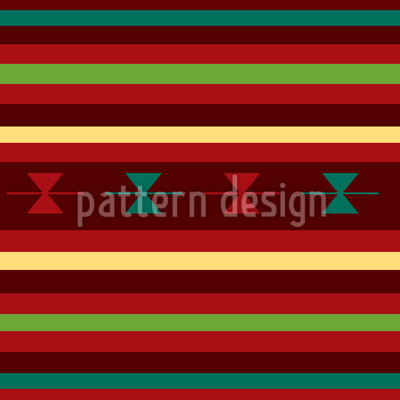 Old Persia Seamless Vector Pattern