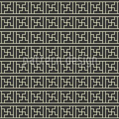 Chinesische Linien Musterdesign