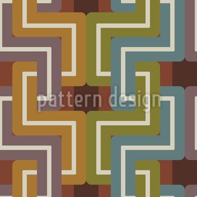 Bridges and Tunnels Seamless Pattern