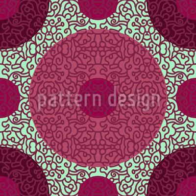Ornamentale Punkte Designmuster