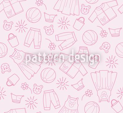 Welt der Kinder Muster Design