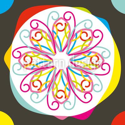 Farbklecks Vektor Muster