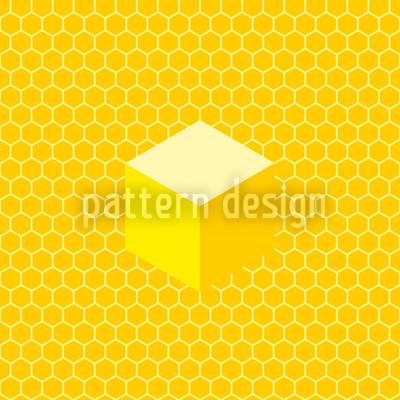 Honigwaben Nahtloses Muster