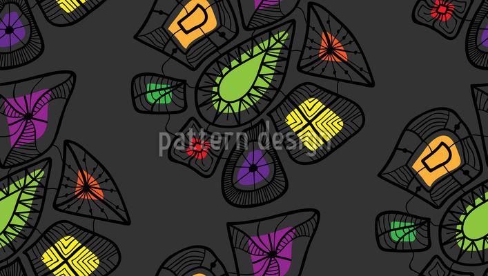 Gem Shop Seamless Pattern