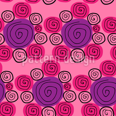 Candies Vector Pattern