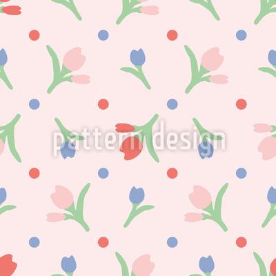 Frühlingsblumen Designmuster