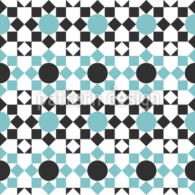Arabic Tilework Pattern Design
