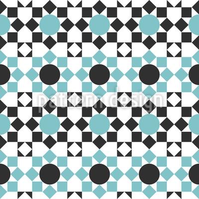 Arabisches Kachelwerk Musterdesign