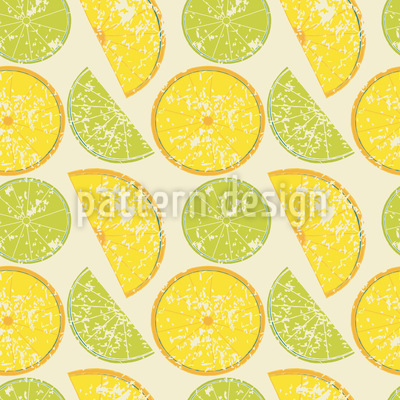 Lemon Or Lime Pattern Design