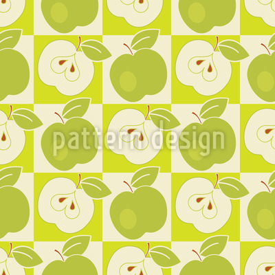 Apples To The Square Vector Design