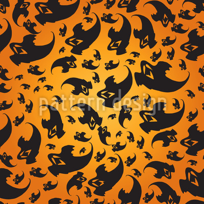 Flying Ghosts Vector Design