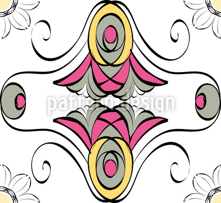 Bloomer Vector Ornament