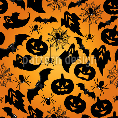 Halloween Repeating Pattern