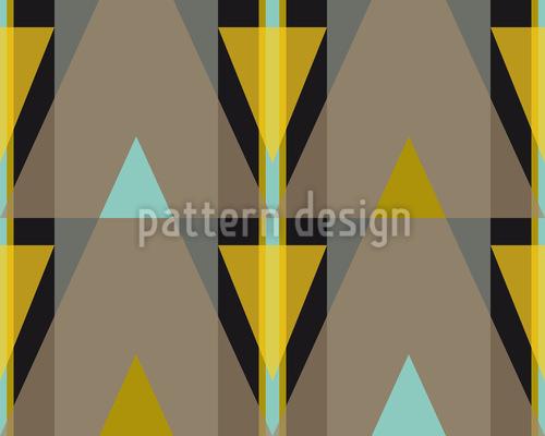 Streifen oder Dreiecke Musterdesign