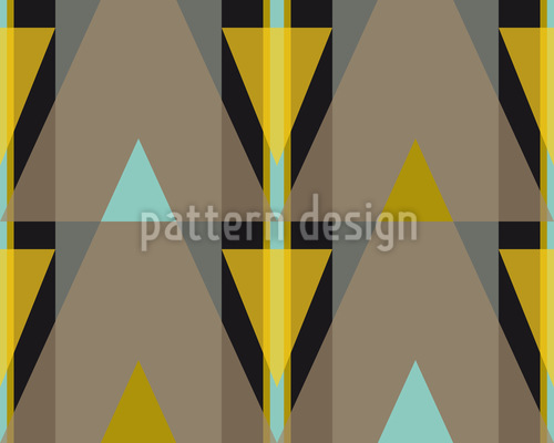 Stripes or triangles Pattern Design