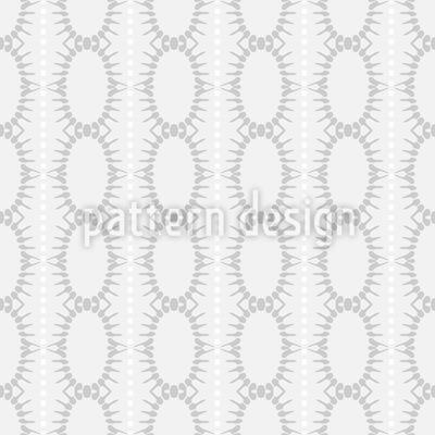 Ovale In Streifen Rapportiertes Design