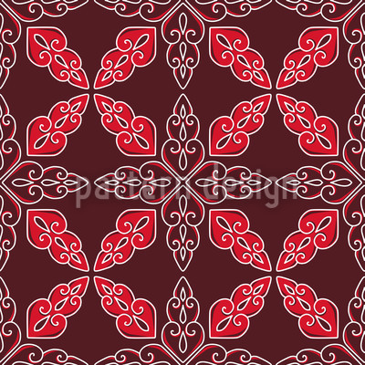 Moroccan Red Vector Design