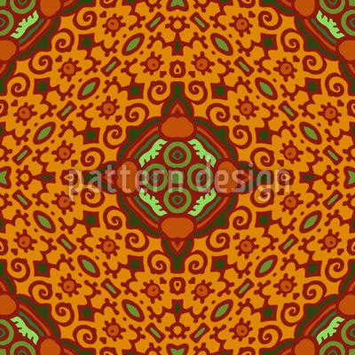 Beautiful Tile Vector Pattern